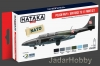 Hataka Hobby HTK-AS46 Polish Navy / Air Force TS-11 paint set (6 x 17ml)