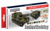 Hataka Hobby HTK-AS51 US Army paint set (MERDC camouflage) (paint set 8 x 17ml)