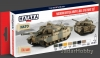 Hataka Hobby HTK-AS77 Modern British Army & RAF AFV (paint set 8 x 17ml)