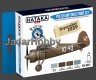 Hataka Hobby HTK-BS01 Polish Air Force (paint set 4 x 17ml)