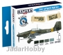 Hataka Hobby HTK-BS02 Early Luftwaffe (paint set 4 x 17ml)