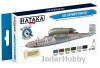"Hataka Hobby HTK-BS03 ""Late Luftwaffe "" (paint set 6 x 17ml)"