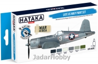 "Hataka Hobby HTK-BS05.2 """"Late US Navy "" (paint set 6 x 17ml)"