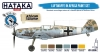Hataka Hobby HTK-BS06.2 Luftwaffe in Africa paint set (6 x 17ml)
