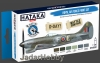 Hataka Hobby HTK-BS07 Royal Air Force (paint set 6 x 17ml)