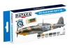 Hataka Hobby HTK-BS103 WW2 Italian Air Force Paint Set vol.1 (6 x 17ml)