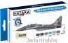 "Hataka Hobby HTK-BS17 ""Modern Polish Air Force vol. 1"" (paint set 6 x 17ml)"