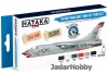 "Hataka Hobby HTK-BS18 US Navy and USMC ""high-viz"" (paint set 6 x 17ml)"