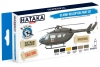Hataka Hobby HTK-BS19 US Army Helicopters (paint set 6 x 17ml)