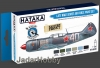 Hataka Hobby HTK-BS20 Late WW2 Soviet Air Force (paint set 6 x 17ml)