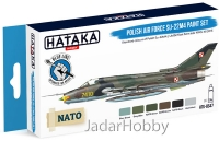 "Hataka Hobby HTK-BS47 ""Polish Air Force Su-22M4 "" (paint set 6 x 17ml)"