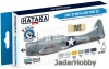 "Hataka Hobby HTK-BS53 ""Early US Navy & USMC"" (paint set 6 x 17ml)"