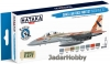 "Hataka Hobby HTK-BS62 ""Israeli Air Force  (modern jets)"" (paint set 8 x 17ml)"