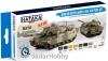 "Hataka Hobby HTK-BS77 ""Modern British Army & RAF AFV "" (paint set 8 x 17ml)"