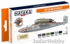 "Hataka Hobby HTK-CS03 ""Late Luftwaffe"" (paint set 6 x 17ml)"