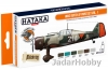 "Hataka Hobby HTK-CS107 ""WW2 Dutch AF "" (paint set 6 x 17ml)"