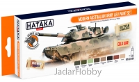 "Hataka Hobby HTK-CS108 ""Modern Australian Army AFV "" (paint set 8 x 17ml)"