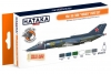 "Hataka Hobby HTK-CS111 Yak-38/38M ""Forger"" (paint set 6 x 17ml)"