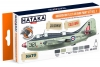"Hataka Hobby HTK-CS113 ""Modern RN Fleet Air Arm vol. 1"" (paint set 6 x 17ml)"
