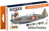 "Hataka Hobby HTK-CS16 ""Early WW2 French Air Force"" (paint set 6 x 17ml)"