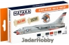 "Hataka Hobby HTK-CS18 US Navy and USMC ""high-viz"" (paint set 6 x 17ml)"