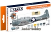 "Hataka Hobby HTK-CS53 ""Early US Navy & USMC "" (paint set 6 x 17ml)"