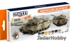 Hataka Hobby HTK-CS77 Modern British Army & RAF AFV (paint set 8 x 17ml)