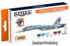 "Hataka Hobby HTK-CS83 Ultimate Su-33 ""Flanker-D"" (paint set 6 x 17ml)"