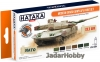 "Hataka Hobby HTK-CS84 ""Modern Danish Army AFV "" (paint set 6 x 17ml)"