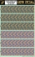 HGW DECAL 532030 1/32 4 Colour LOZENGE-FADED  / Transparent