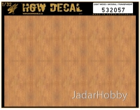 HGW DECAL 532057 1/32 Light Wood / Natural - Transparent
