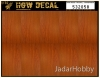 HGW DECAL 532058 1/32 Dark Wood / Natural - Transparent