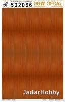 HGW DECAL 532066 1/32 Dark Wood - Base White