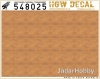 HGW DECAL 548025 1/48 Light Wood - Natural Tone