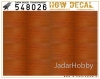 HGW DECAL 548026 1/48 Dark Wood - Transparent