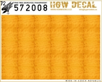 HGW DECAL 572008 1/72 Pine Tree (Yellow) - Transparent