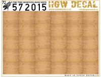 HGW DECAL 572015 1/72 Pine Tree (Natural) - White Base