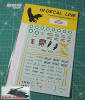 Hi-Decal 48016 F-5E/F Tiger II / Azarakhsh (1/48)