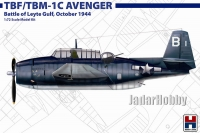 Hobby 2000 72010 1/72 TBF/TBM-1C Avenger Battle of Leyte Gulf, October 1944