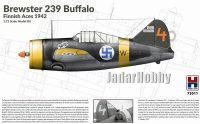 Hobby 2000 72011 1/72 Brewster 239 Buffalo Finnish Aces 1942