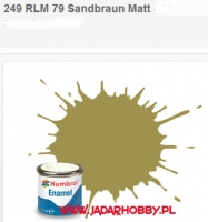Humbrol 249 - RLM 79 Sandbraun Matt - 14ml Enamel Paint