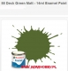 Humbrol 088 - Deck Green Matt - 14ml Enamel Paint
