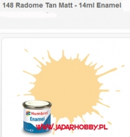 Humbrol 148 - Radome Tan Matt - 14ml Enamel Paint