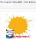 Humbrol 154 - Insignia Yellow Matt - 14ml Enamel Paint
