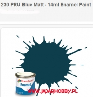 Humbrol 230 - PRU Blue Matt - 14ml Enamel Paint