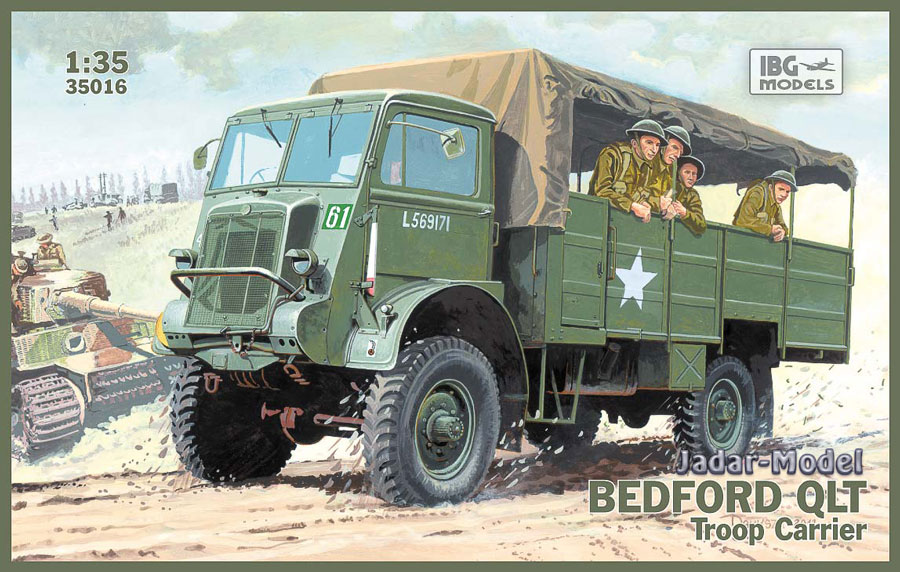 IBG 35016 - Bedford QLT Troop Carrier