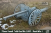 IBG 35067 1/35 75mm French Field Gun Mle 1897 - World War I