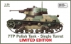 IBG 35074L 1/35 7TP Polish Tank - Single Turret LIMITED EDITION