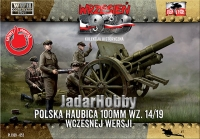 First to Fight PL1939-52 1/72 100mm 14/19 Polish Field Howitzer (early version)