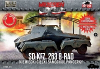 First to Fight PL1939-74 1/72 Sd.Kfz.263 (8 Rad) w/Metal Gun Barrel